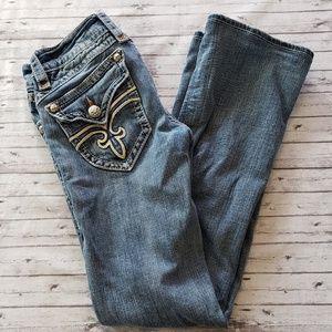 Rock Revival Jeans 27 Embellished Pockets
